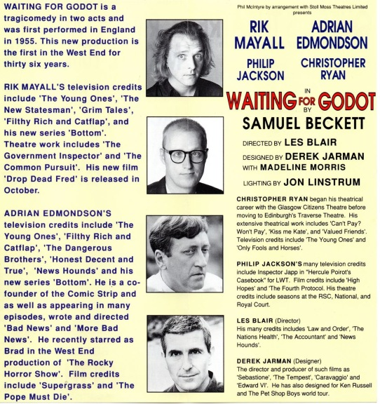 Waiting for Godot leaflet