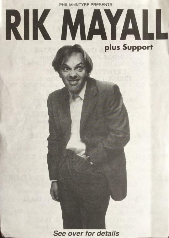 Rik Tour Leaflet.