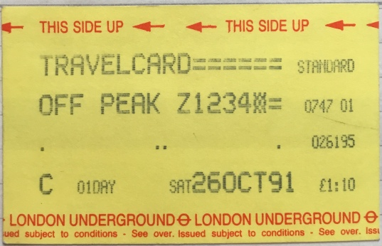 Waiting for Godot - travelcard
