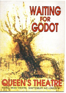 Waiting for Godot Programme cover