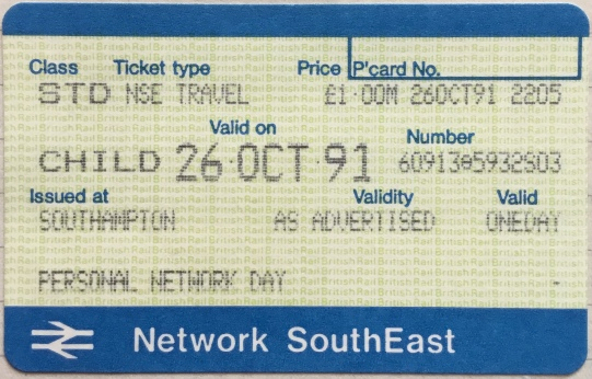 Waiting for Godot - Train Ticket