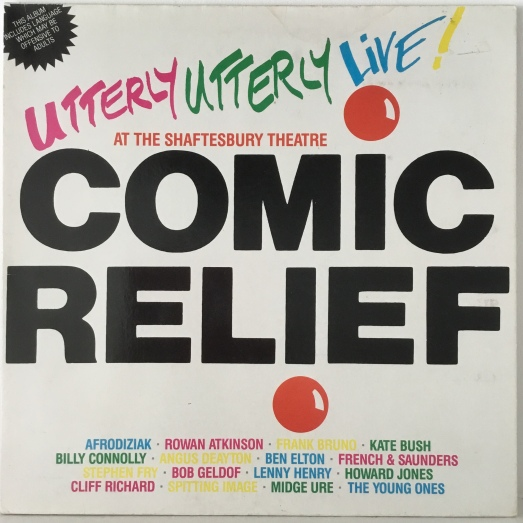 Comic Relief Live LP.