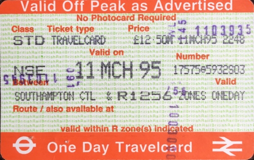Cell Mates - Train Ticket.