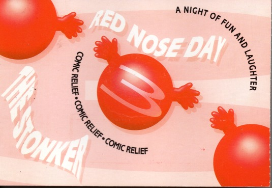 Red Nose Day Ticket - front