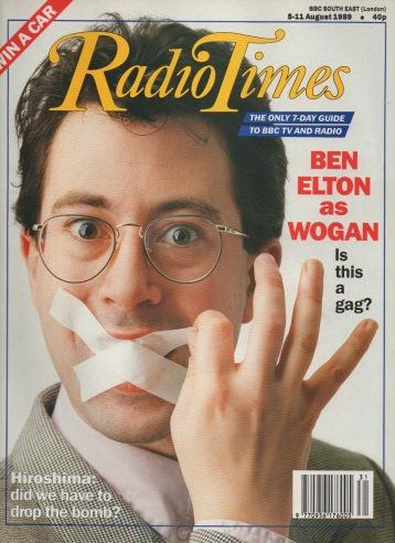 Ben Elton Radio Times Cover