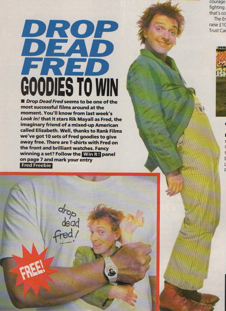 Drop Dead Fred, Lookin! 3