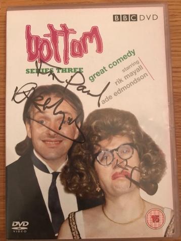Signed Bottom DVD