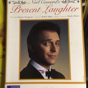 Shaun Gibson, Present Laughter Programme 2003