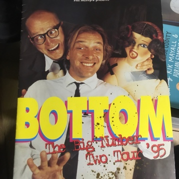 Shaun Gibson, Bottom Live 2 1995 Programme