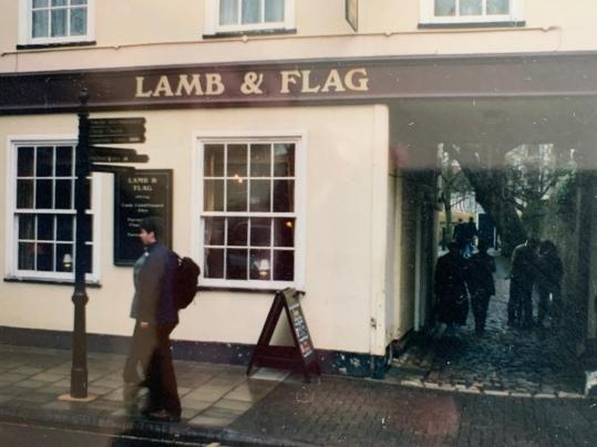 Shaun Gibson, Lamb and Flag Pub