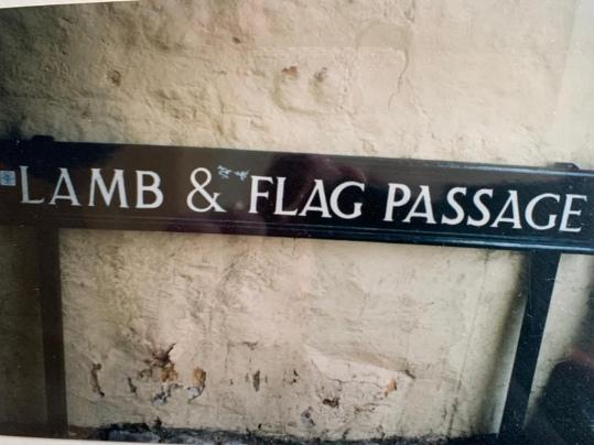 Shaun Gibson, Lamb and Flag Passage