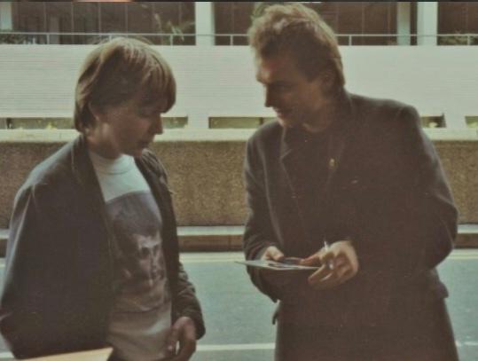 Chris Shields with Rik