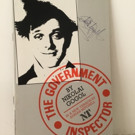 Theatre Programmes, The Government Inspector.