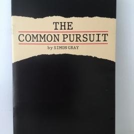 Theatre Programmes, The Common Pursuit.