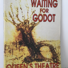 Theatre Programmes, Waiting For Godot.