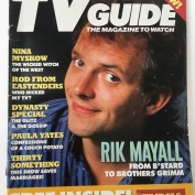 Magazine Covers, TV Guide, April 1989