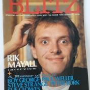 Magazine Covers, Blitz, Nov 1983