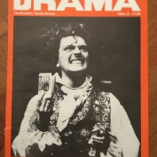 Magazine Covers, Drama, Feb 1985