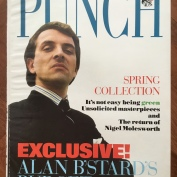 Magazine Covers, Punch, Spring 1989