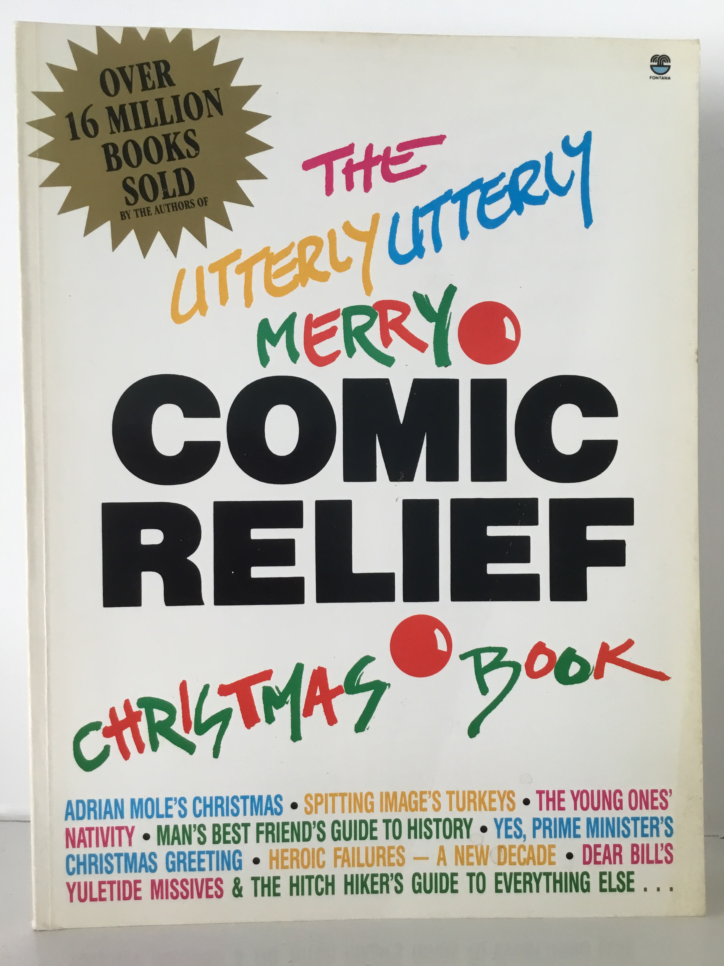 Books, The Utterly Utterly Merry Comic Relief Christmas Book