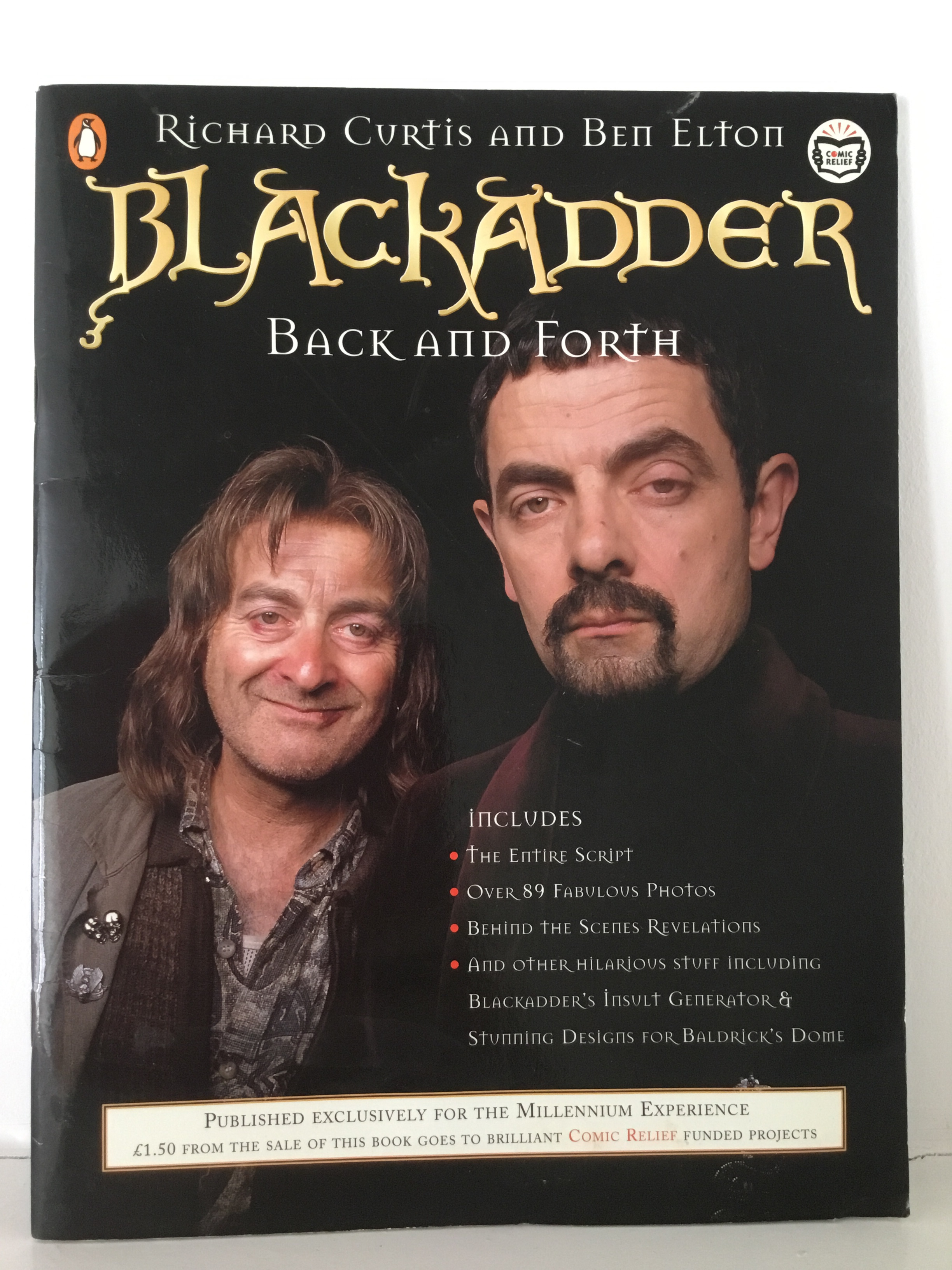 Books, Blackadder Back and Forth