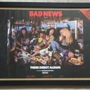 Posters, Bad News their debut album.