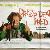 Posters, Drop Dead Fred, Quad poster.