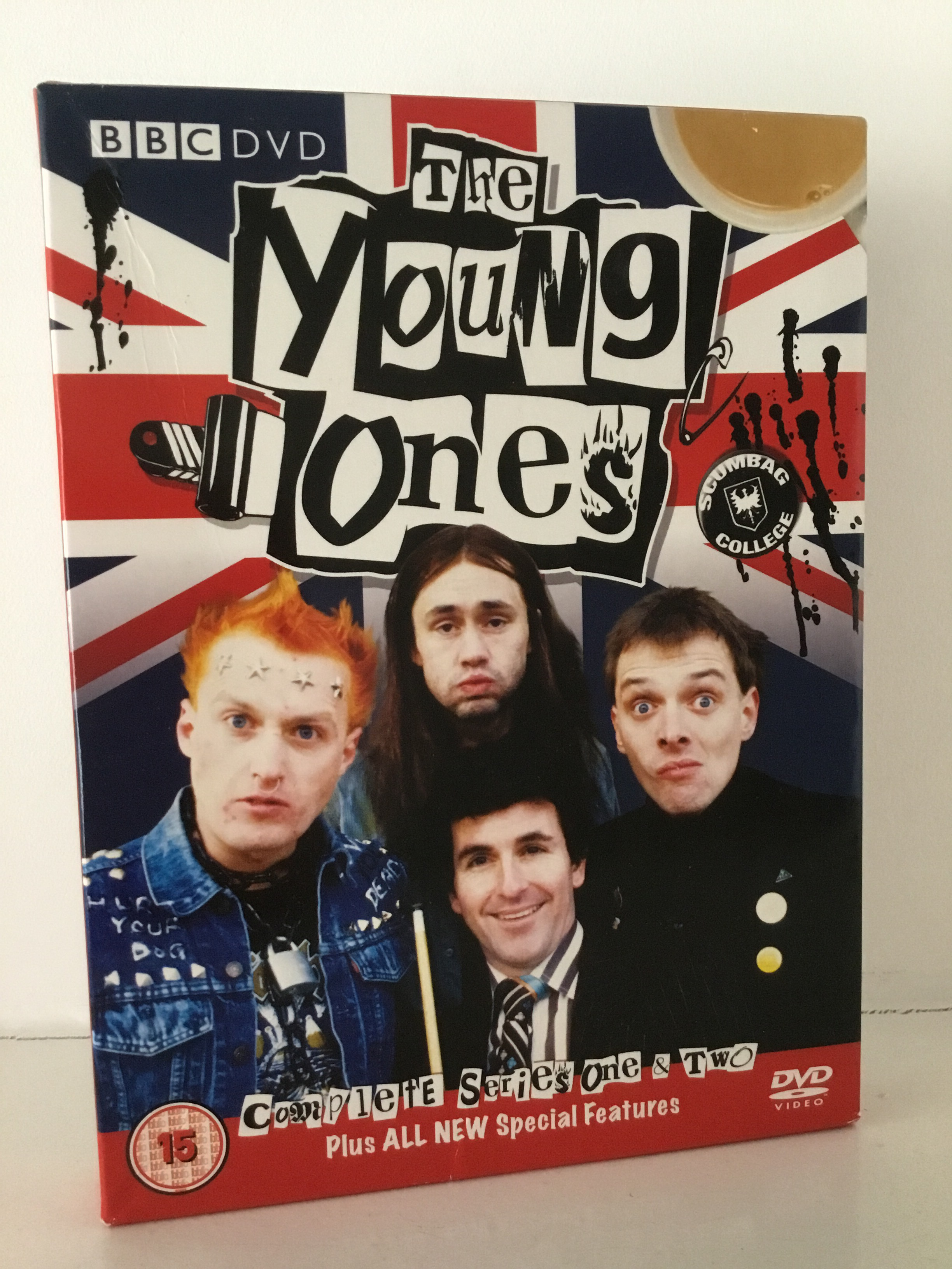 VHS/DVDs, The Young Ones dvd.
