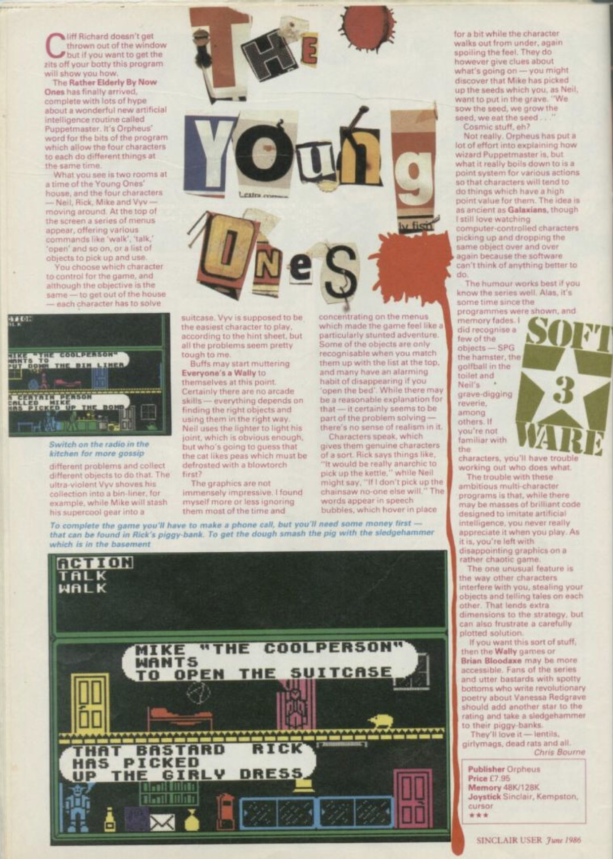 magazine review of the game