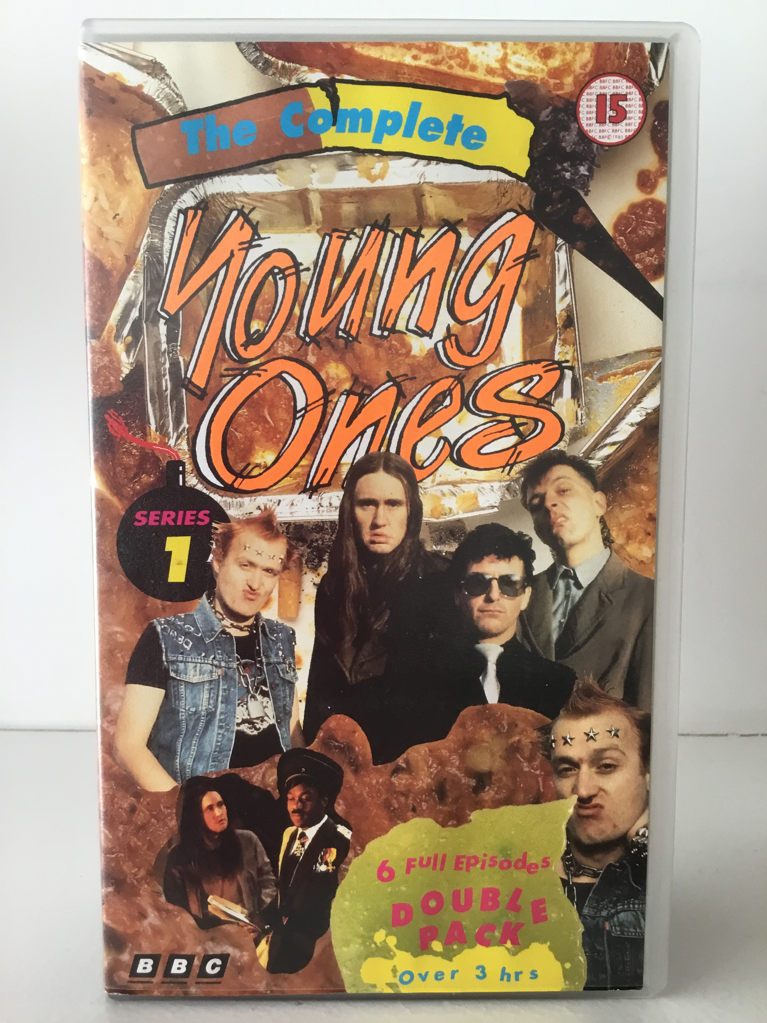 Series one double pack edition of the young ones on VHS
