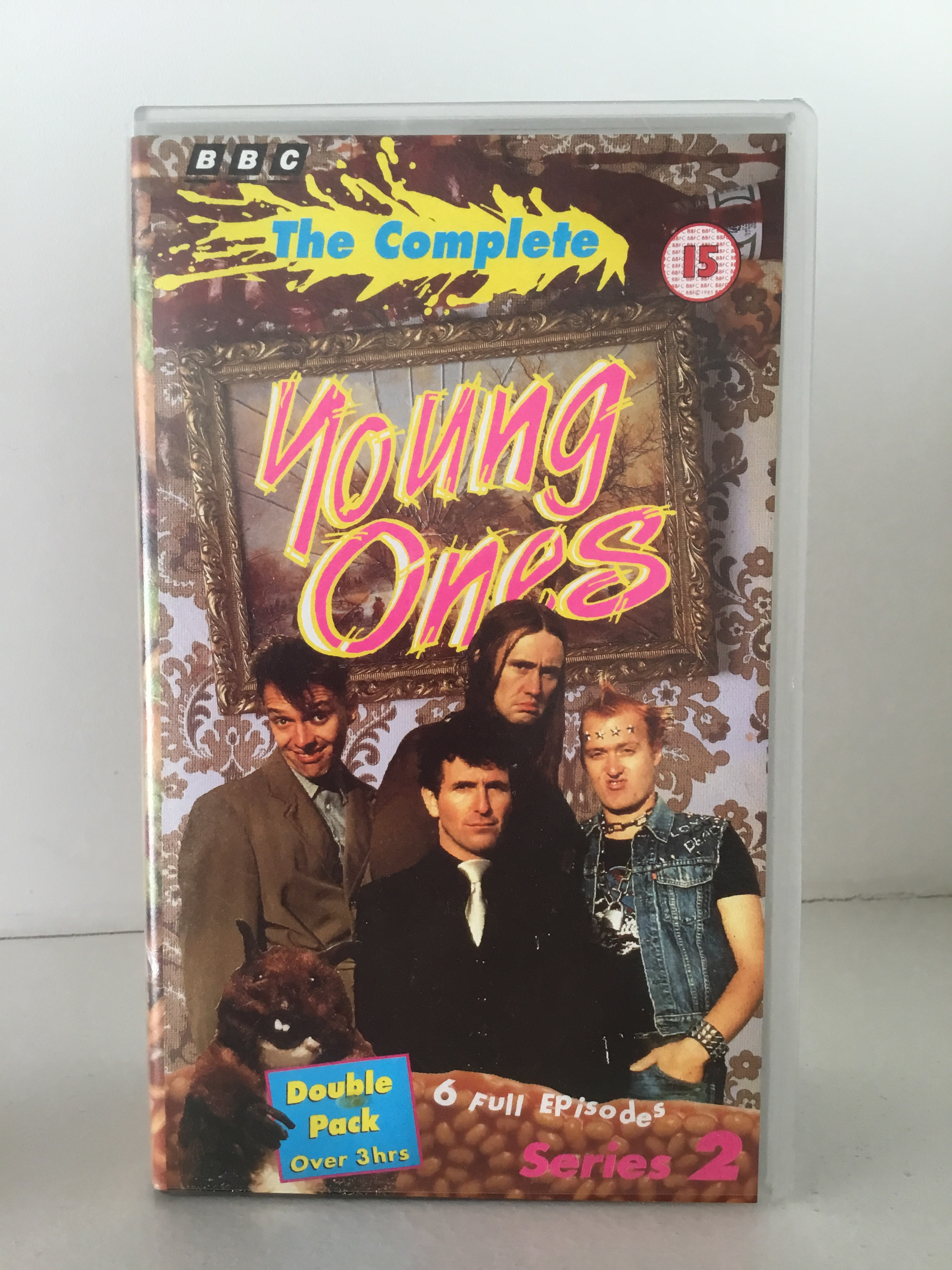 series 2 double tape edition of the young ones on VHS
