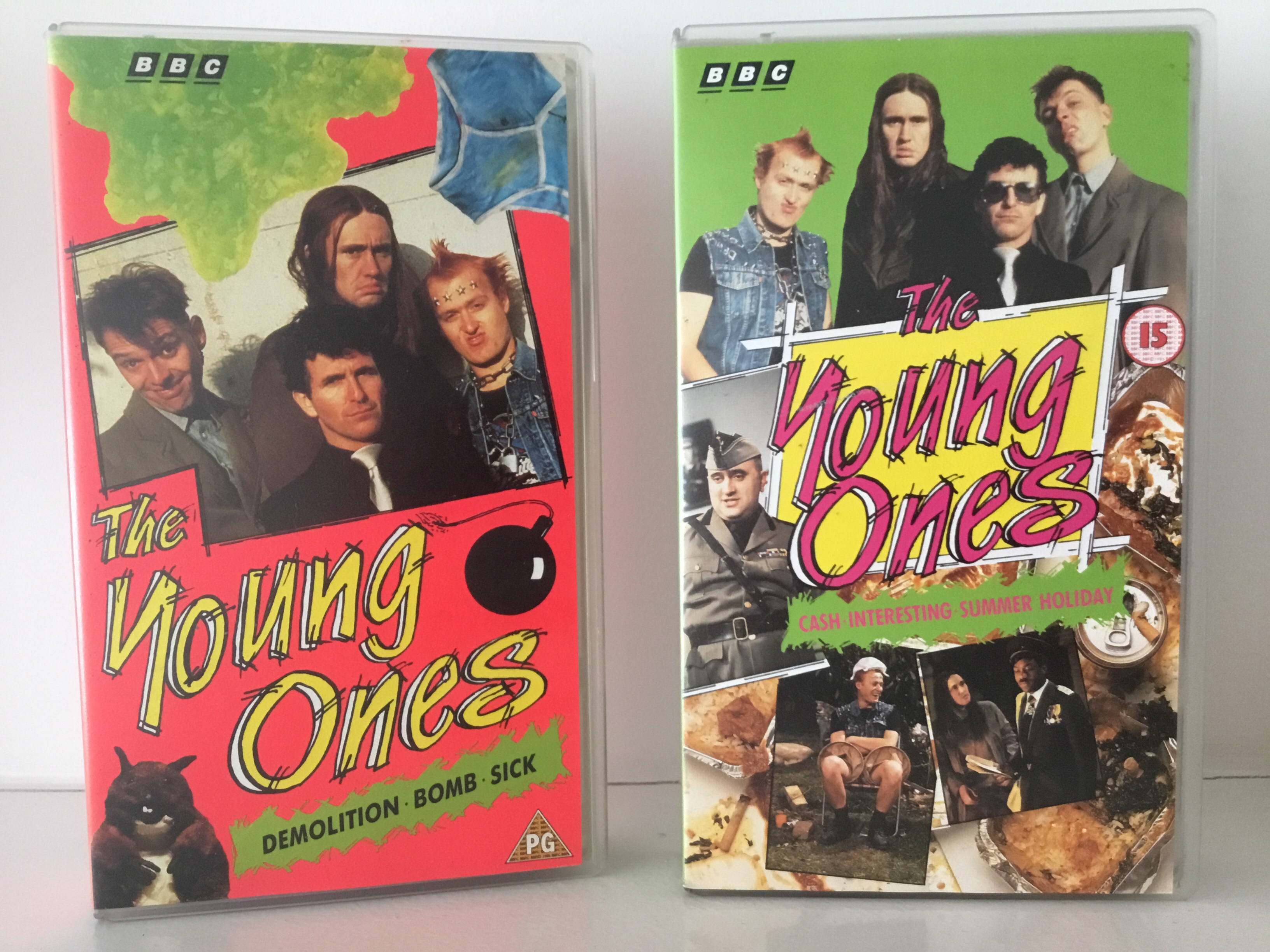 1991 released VHS tapes of the young ones