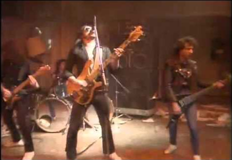 Motorhead performing Ace of Spades on the young ones
