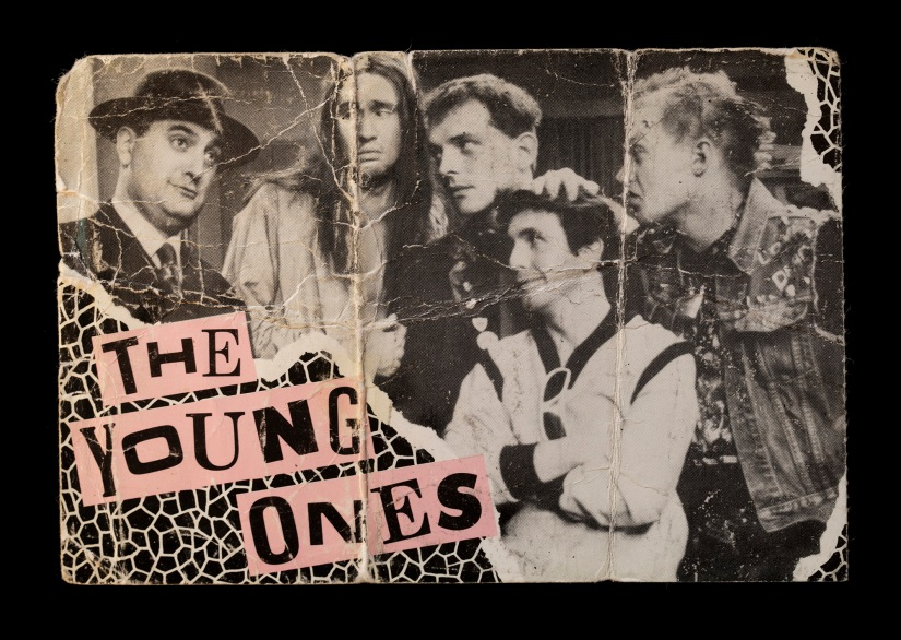 Paul Putner's studio audience ticket for The Young Ones
